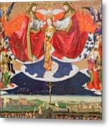 The Coronation Of The Virgin Metal Print by Enguerrand Quarton