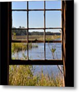 The Cotton Dock Metal Print by Melissa Wyatt