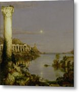 The Course Of Empire - Desolation Metal Print by Thomas Cole