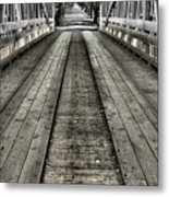 The Covered Bridge Metal Print by JC Findley