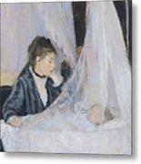 The Cradle Metal Print by Berthe Morisot