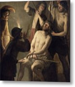 The Crowning With Thorns Metal Print by Jan Janssens
