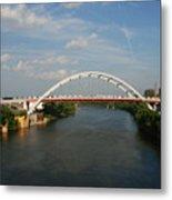 The Cumberland River In Nashville Metal Print by Susanne Van Hulst