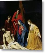 The Descent From The Cross Metal Print by Nicolas Tournier