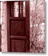 The Door Metal Print by Wayne Potrafka