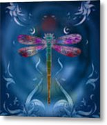 The Dragonfly Effect Metal Print by Bedros Awak