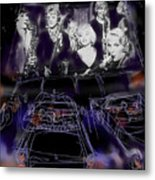 The Drive In Metal Print by Russell Pierce