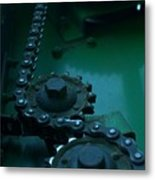 The Driven Metal Print by The Stone Age