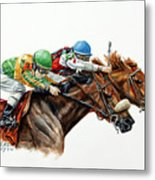 The Duel Metal Print by Thomas Allen Pauly