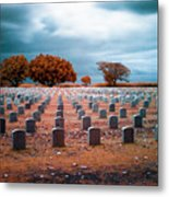 The End 2 Metal Print by Skip Nall