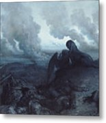 The Enigma Metal Print by Gustave Dore