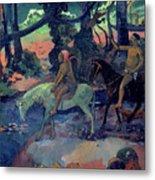 The Escape Metal Print by Paul Gauguin