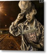 The Essence Of The Streets Metal Print by Tuan HollaBack