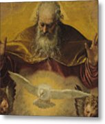 The Eternal Father Metal Print by Paolo Caliari Veronese