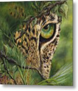 The Eye Metal Print by Myra Goldick