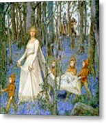 The Fairy Wood Metal Print by Henry Meynell Rheam