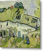 The Farm In Summer Metal Print by Vincent van Gogh