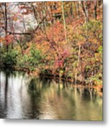 The Fishing Spot Metal Print by JC Findley
