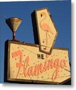 The Flamingo Metal Print by Troy Montemayor