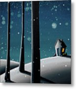The Frost Metal Print by Cindy Thornton