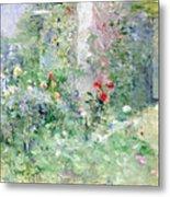 The Garden At Bougival Metal Print by Berthe Morisot