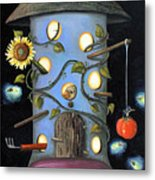 The Gardener Metal Print by Leah Saulnier The Painting Maniac