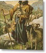 The Good Shepherd Metal Print by English School