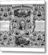 The Great National Memorial Metal Print by War Is Hell Store