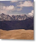 The Great Sand Dunes Panorama 1 Metal Print by James BO  Insogna