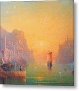 The Grey Havens. The Gulls Lament.  Oil On Canvas Metal Print by Joe  Gilronan