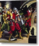 The Gunpowder Plot Metal Print by Ron Embleton