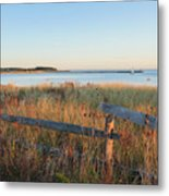 The Harbor Square Metal Print by Bill Wakeley