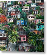 The Hill     Trinidad  Metal Print by Karin  Dawn Kelshall- Best
