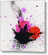 The Inexplicable Ignition Of Time Expanding Into Free Space Phase Two Number 02 Metal Print by Mark M  Mellon
