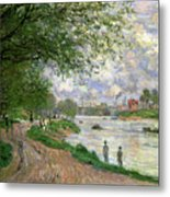The Island Of La Grande Jatte Metal Print by Claude Monet
