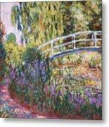 The Japanese Bridge Metal Print by Claude Monet