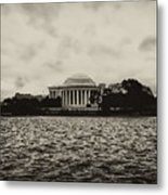 The Jefferson Memorial Metal Print by Bill Cannon