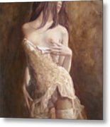 The Laces Metal Print by Sergey Ignatenko
