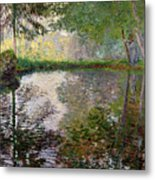 The Lake At Montgeron Metal Print by Claude Monet