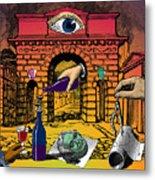 The Last Days Of Herculaneum Metal Print by Eric Edelman