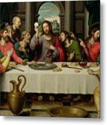 The Last Supper Metal Print by Vicente Juan Macip