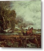 The Leaping Horse Metal Print by John Constable