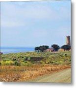 The Light At Piedras Blancas - San Simeon California Metal Print by Christine Till