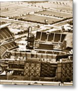 The Linc - Aerial View Metal Print by Bill Cannon