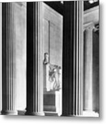 The Lincoln Memorial Metal Print by War Is Hell Store