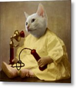 The Little Chatterbox Metal Print by Martine Roch