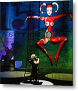 The Little Puppet Master Metal Print by Bob Orsillo
