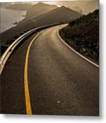 The Long And Winding Road Metal Print by John Daly