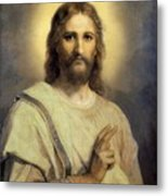 The Lord's Image Metal Print by Heinrich Hoffmann