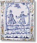 The Magic Flute Metal Print by French School
